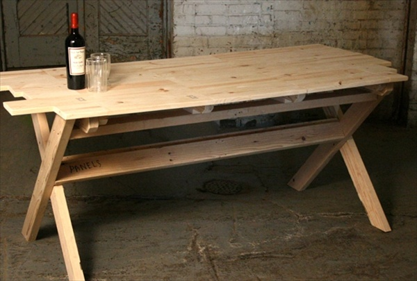 Pallet Dining Table 16 Perfect Ideas Furniture Plans