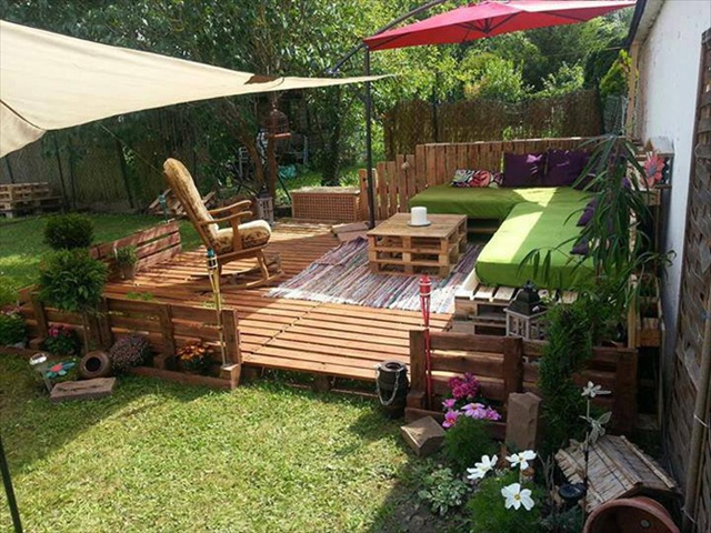 8 revamp pallet ideas for outdoors pallet furniture plans