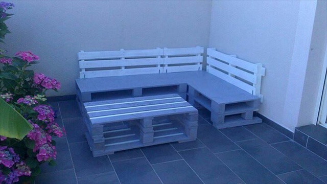 Revamp Pallet Ideas for Outdoors | Pallet Furniture Plans