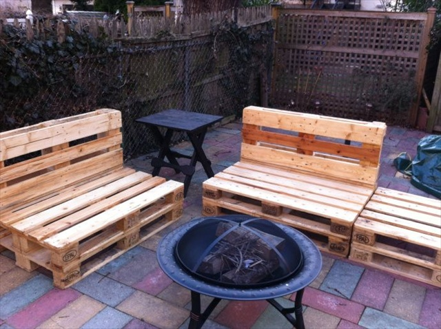 pallet outdoor furniture plans. pallet outdoor banches furniture plans l