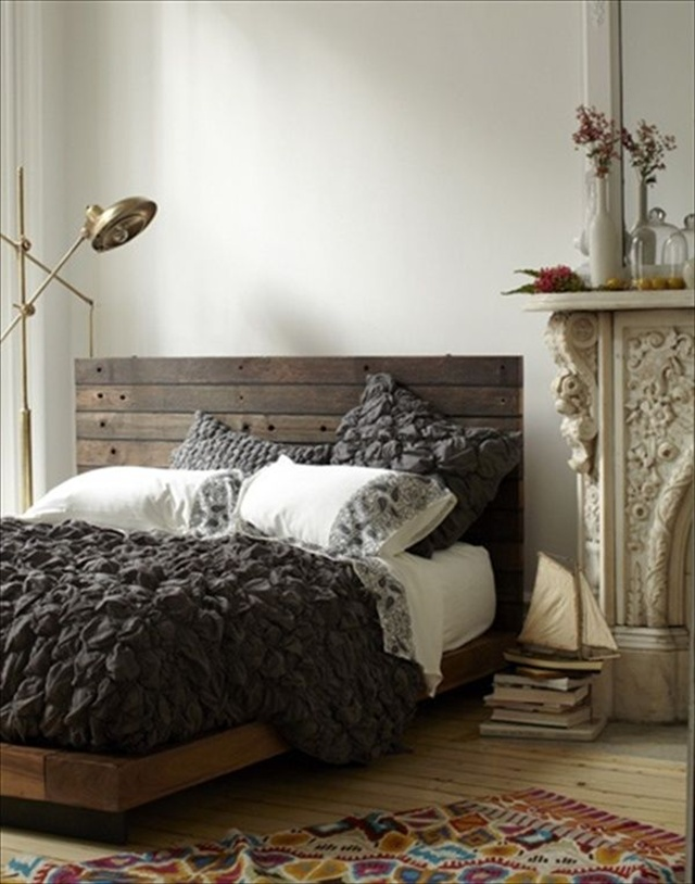 Ideas For Comfort Pallet Bed Furniture Plans