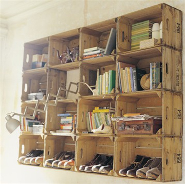 quick yet chic pallet storage ideas | pallet furniture plans