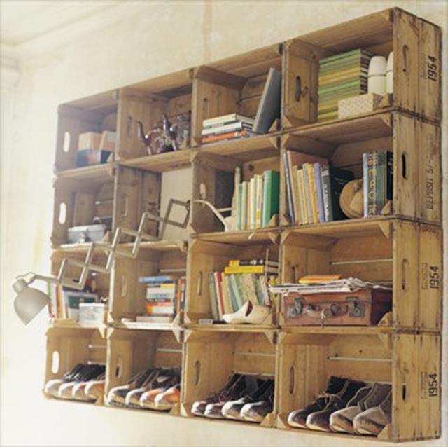 Pallet Storage Ideas