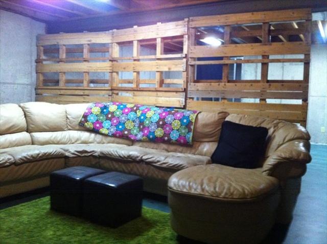 Pallet Room Divider Plans