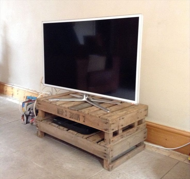 woodwork diy pallet tv stand plans pdf plans