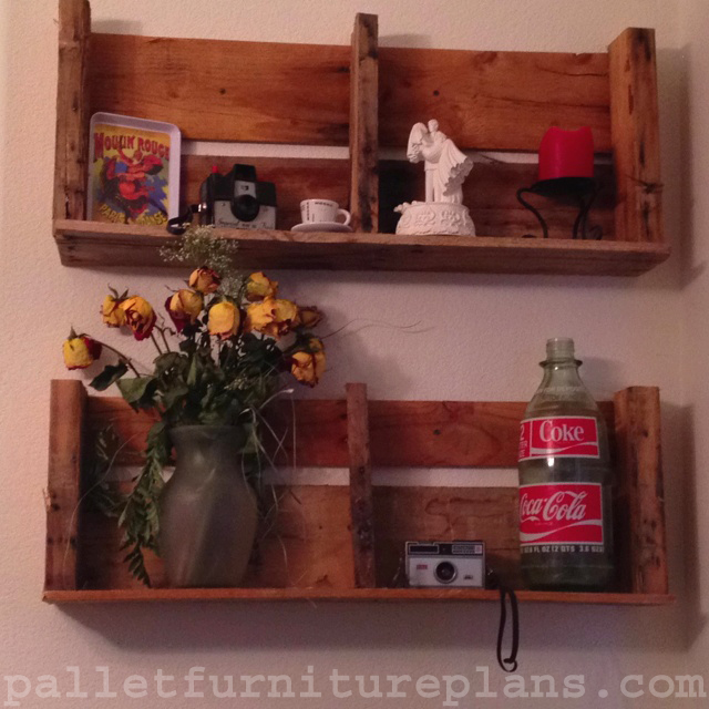 Diy Pallet Shelves To Manage Your Things Pallet