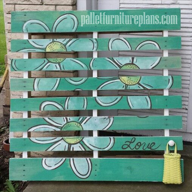 Creative with pallets diy pallet furniture plans for Sillones con palets de madera