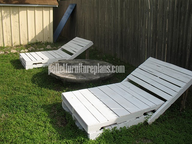 pallet lounger chairs