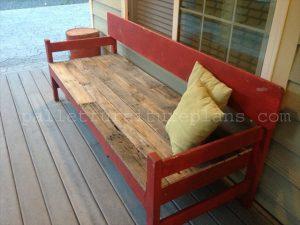 Pallet Porch bench