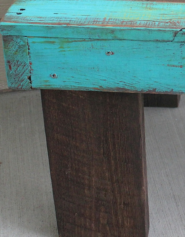 Coffee Pallet Table