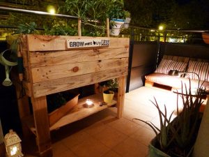 Have You Enjoyed Fun of DIY Pallet Urban Garden?