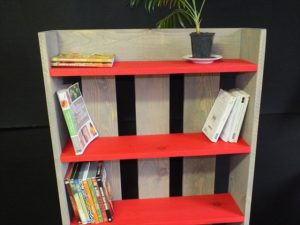 Pallet Bookcase DIY