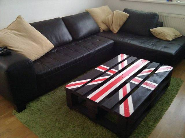 Project DIY – Pallet Coffee Table
