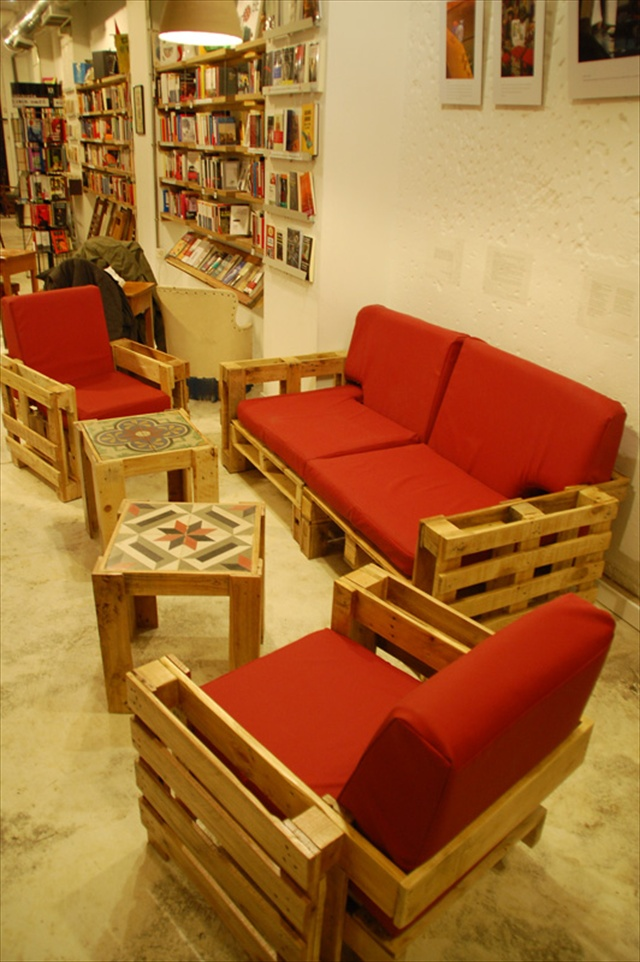Wonderful Pallets Living Furniture