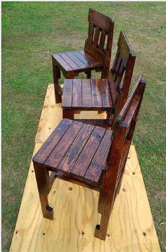 Pallet Ideas - Wood Pallet Chair