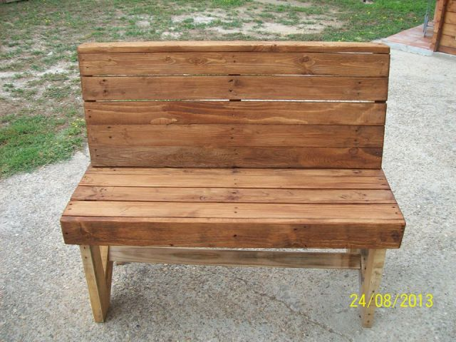 pallet bench beautiful wood pallet outdoor furniture