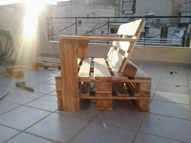Diy Pallet Bench Chair Pallet Furniture Plans