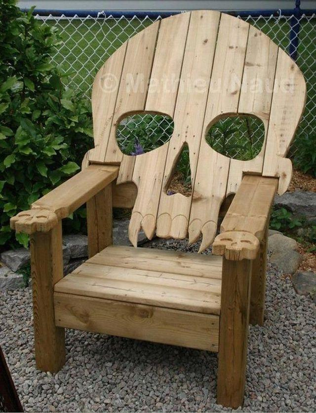 Woodwork Pallet Chair Plans PDF