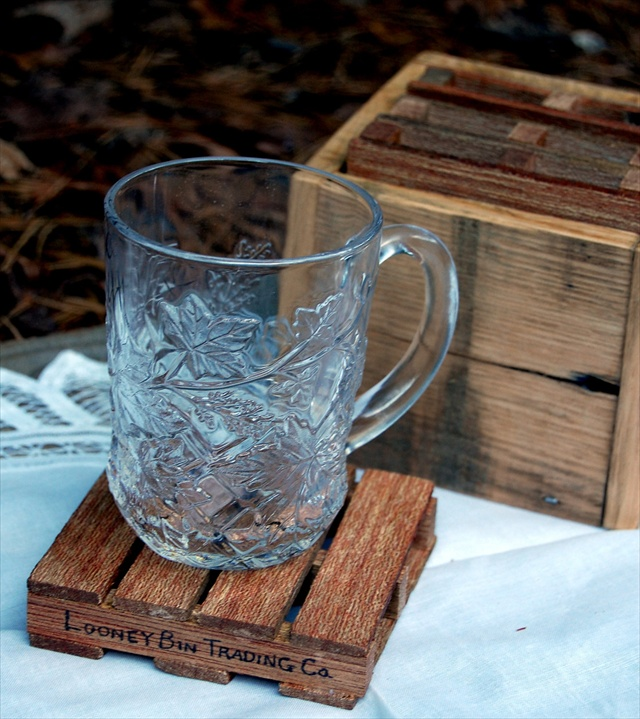 Pallet Drink Coaster