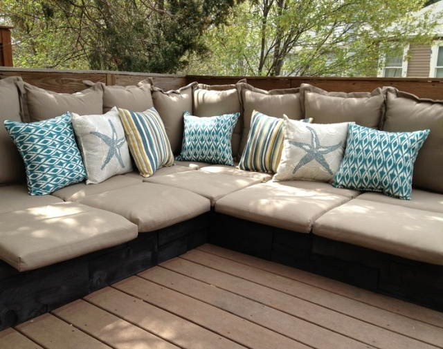 20 cozy diy pallet couch ideas pallet furniture plans for Sofa exterior terraza