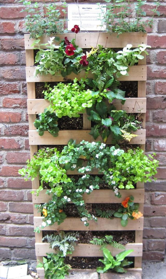 25 diy pallet garden projects