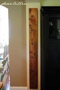 DIY Pallet Growth Chart