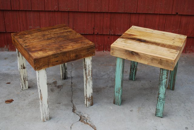 beautiful and simple pallet side tables pallet furniture