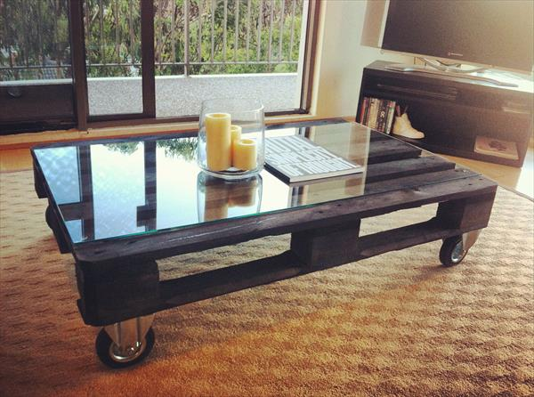 Old Coffee Table from Pallets