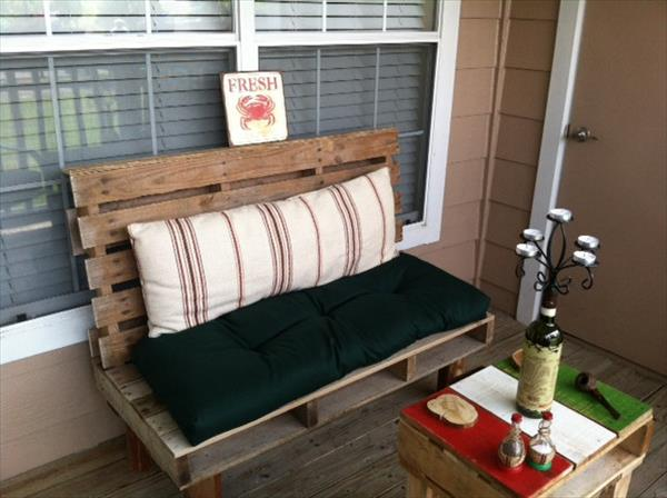 Pallet Bench For Indoor And Outdoor Pallet Furniture Plans