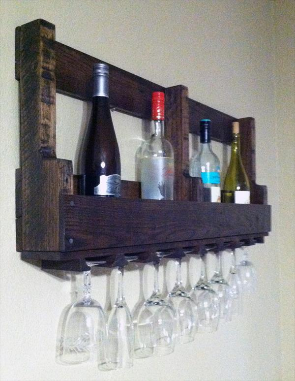 Pallet Bottle Rack