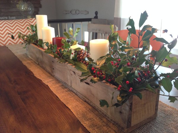 Pallet Centerpiece Box