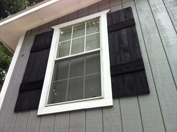 DIY Shutters For Interior Or Exterior Pallet Furniture Plans
