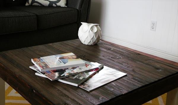 Coffee Table with Pallet Top