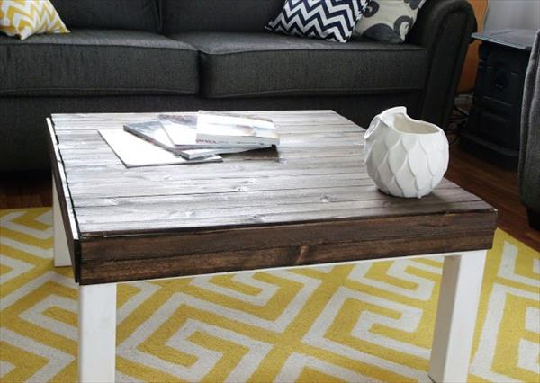 Coffee Table with Pallet