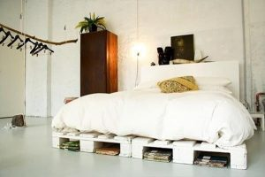 bed make fro pallets