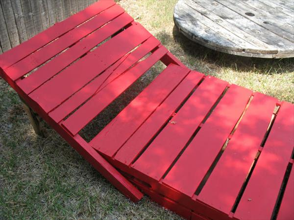 pallet lounger tutorial