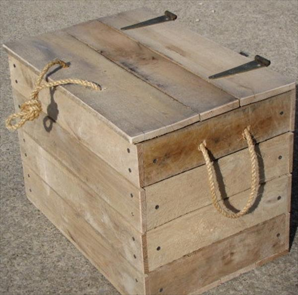 recycled pallet box