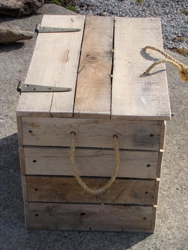 pallet box out of pallets