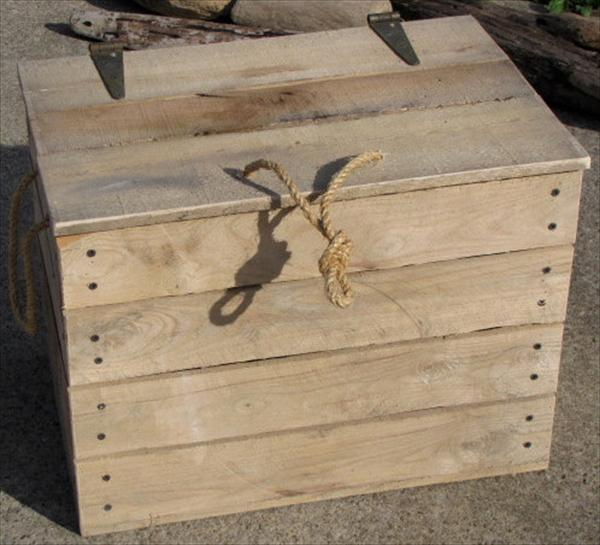 reclaimed pallet box idea