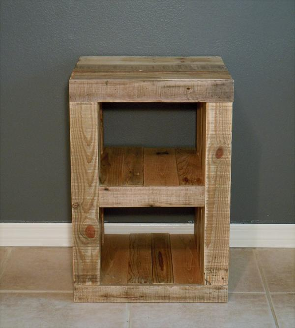 Read more about DIY Pallet Nightstand and Bed