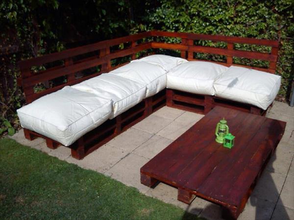 diy pallet sofa model
