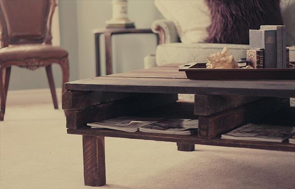 DIY Coffee Table Pallet