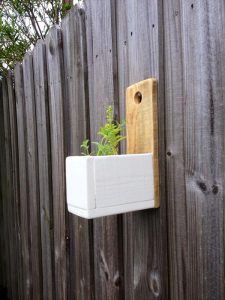DIY Wall Hanging Herb Planter