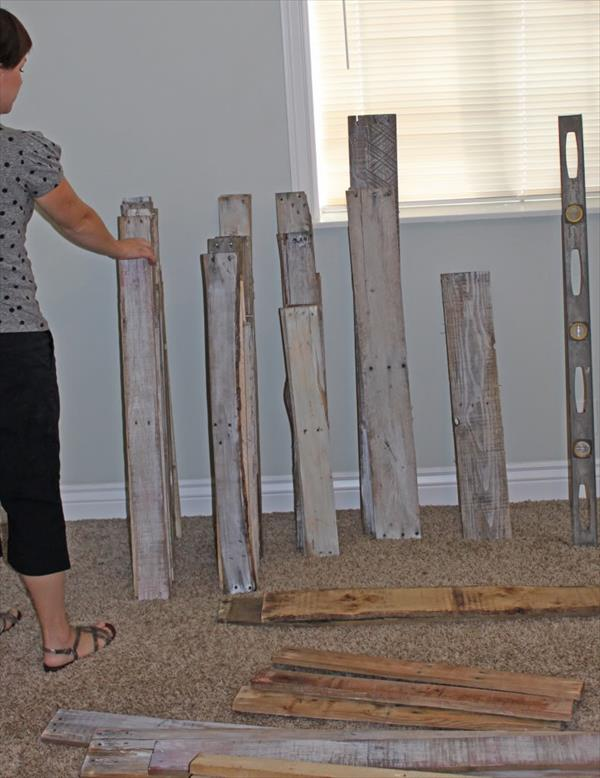 collect pallet planks