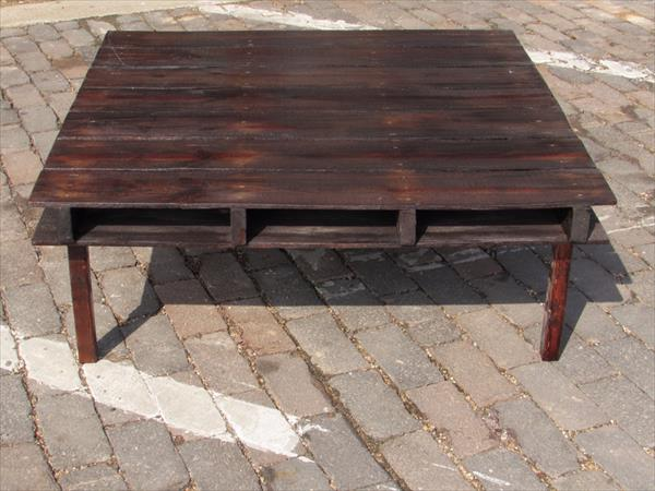 coffee table out of pallet