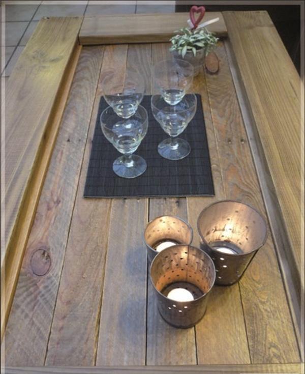 redeemed pallet coffee table