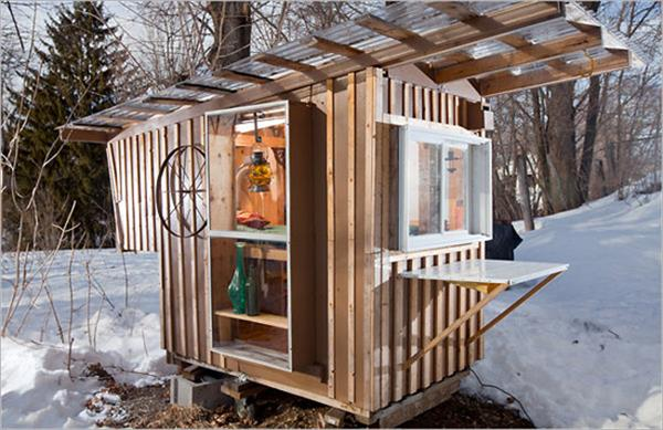 Tiny Pallet House Design Furniture Plans