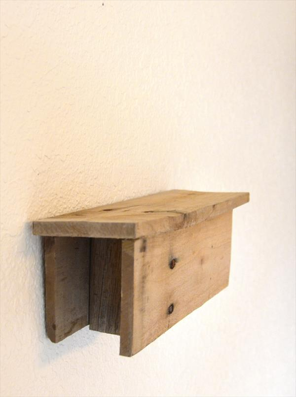 picture shelf out of pallet