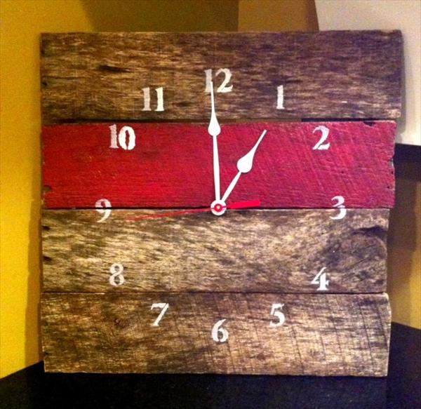Diy Pallet Clocks Pallet Furniture Plans