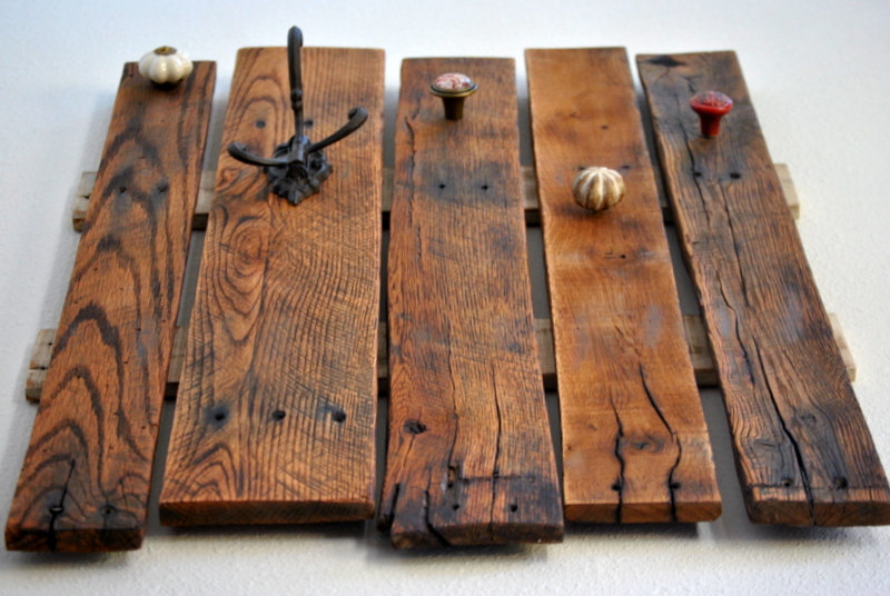 Diy Pallet Hook Shelf Pallet Furniture Plans